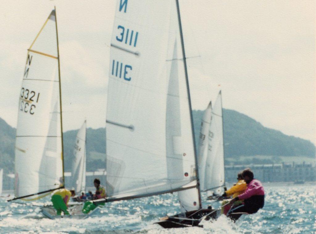 42 at Llandudno Burton1990 offwind