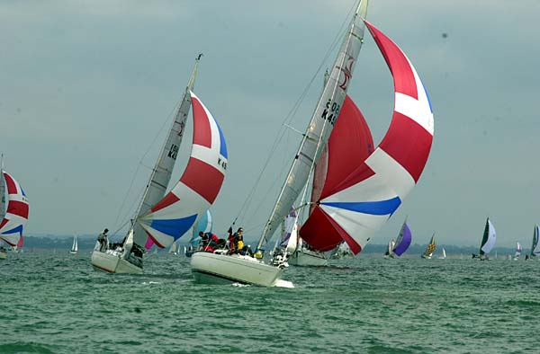 Cowes Week race 8, Polly Durrant