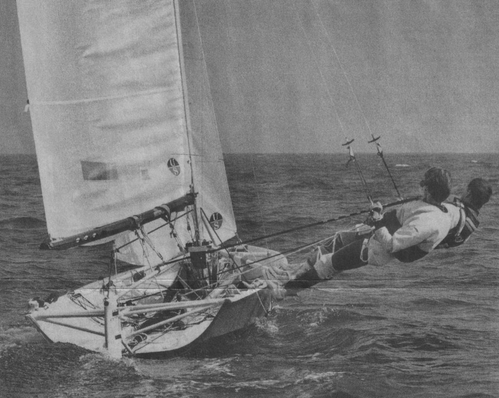 Crew men go out on a limb in search of plain sailing landscape